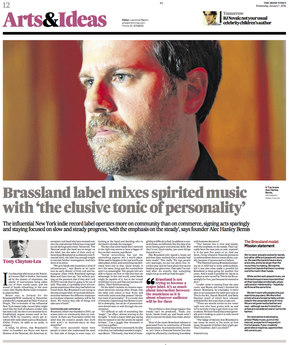Irish Times article